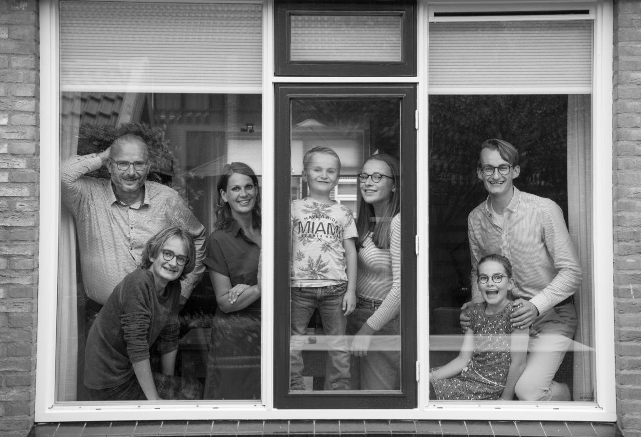 Familie Van den Berg uit Hierden